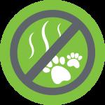 no animal odor logo