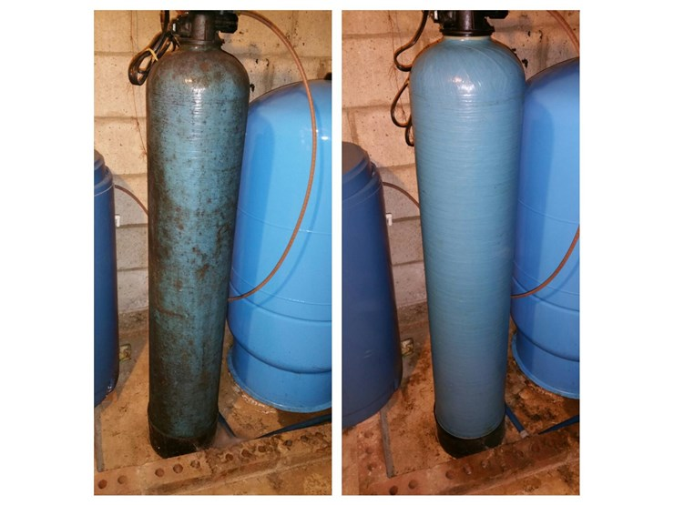 before and after pictures of taks mold removal in danbury